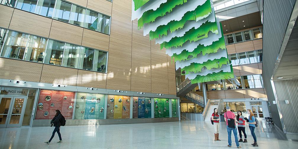 Biorenewables Research Lab atrium