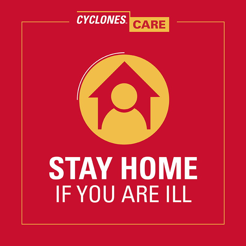 Stay home if you are ill