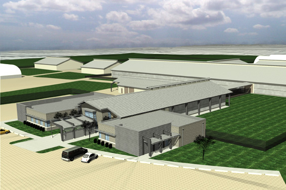 Construction Begins On New Iowa State Dairy Farm