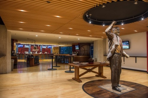 Photo of Johnny's lounge in Hilton Coliseum