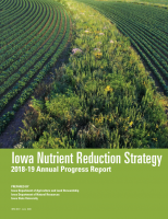 Iowa Nutrient Reduction Strategy 2018-19 Annual Report Cover