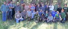 2014 Forestry Camp Group Photo