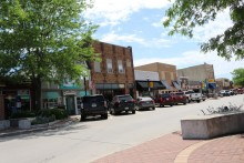 Picture of downtown, Carroll, Iowa