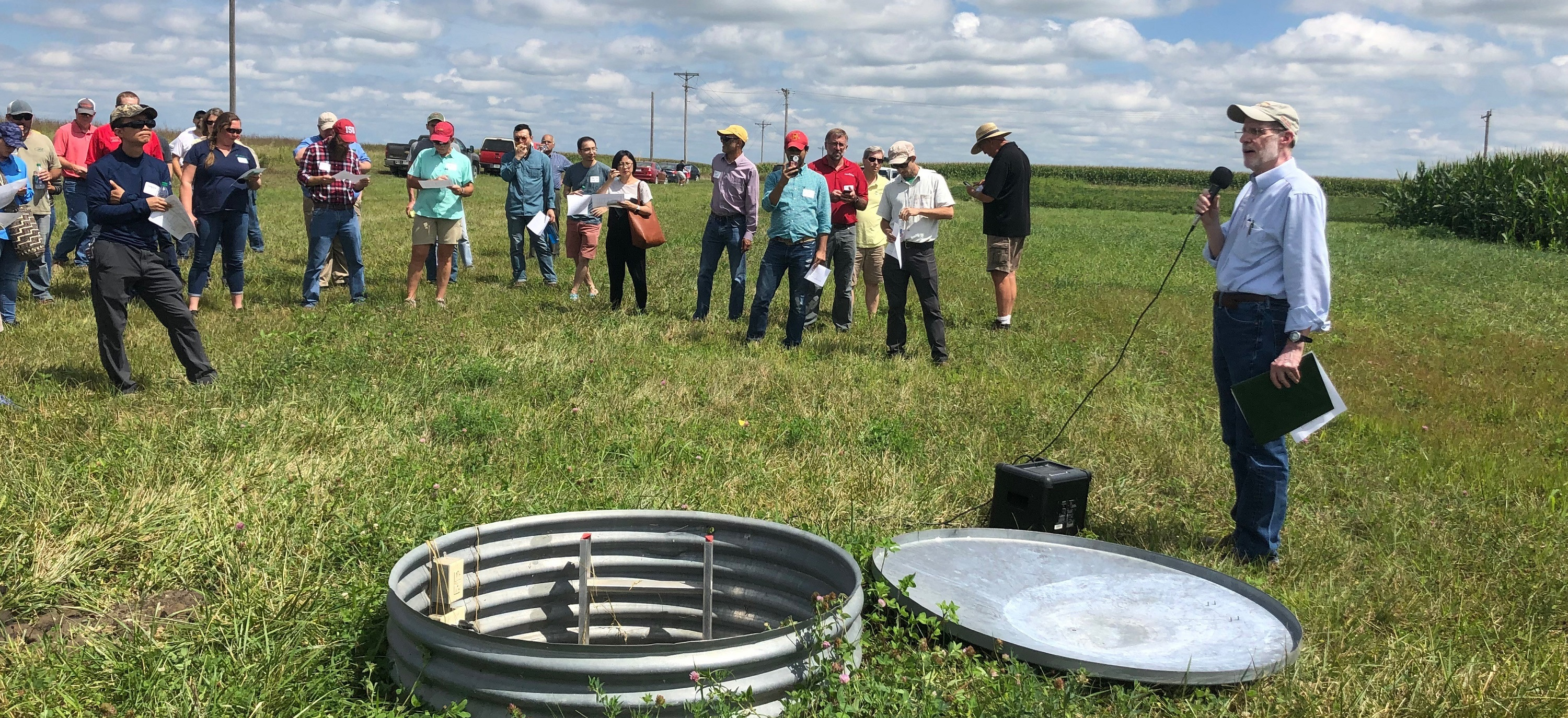 Researcher Field Day, INRC, August 2019