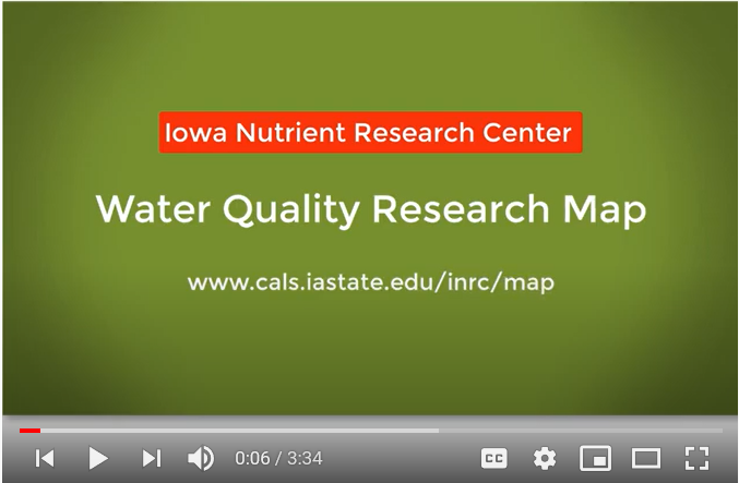 Water Quality Research Map video title slide