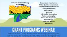 Partners of Scott County Watersheds grants Program flyer image